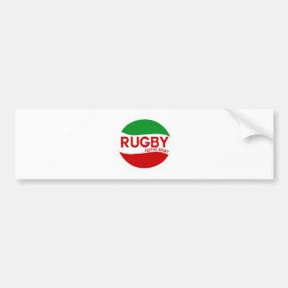 rugby festif basque autocollant pour voiture