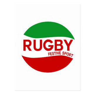 rugby festif basque carte postale
