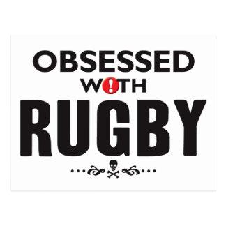 Rugby hanté cartes postales