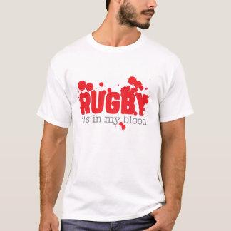 Rugby - il est dans mon sang t-shirt