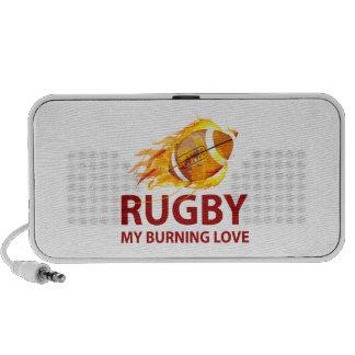 Rugby mon amour brûlant haut-parleur mp3