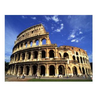 Ruines célèbres du Colisé à Rome Italie Carte Postale
