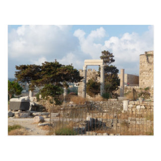 Ruines de Byblos Carte Postale