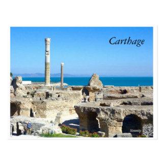Ruines de carte postale de Carthage II