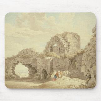 Ruines de château de Pevensey (la semaine sur le p Tapis De Souris