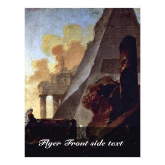 Ruines des pyramides par Barbault Jean (la meilleu Prospectus Avec Motif