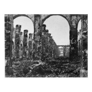 Ruines du DES Comptes 2 de Cour Carte Postale