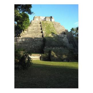 Ruines maya chez Yaxha, Guatemala Carte Postale