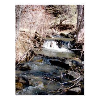 Ruisseau de bavardage carte postale
