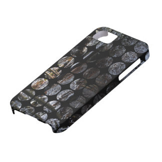 Ruisseau de forêt de pois d hiver coque iPhone 5