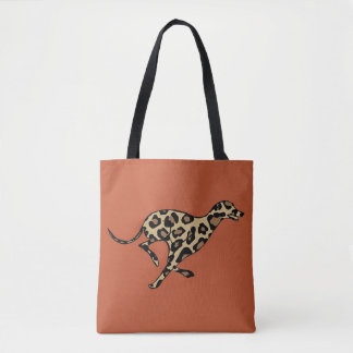 Running sauvage tote bag