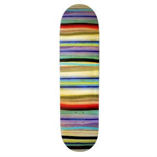 Rupydetequila profond vintage affligé plateaux de skateboards customisés