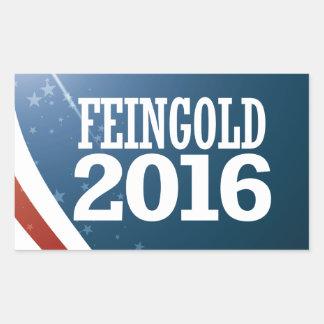 Russ Feingold 2016 Sticker Rectangulaire