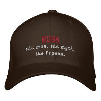 Russ la légende casquette brodée