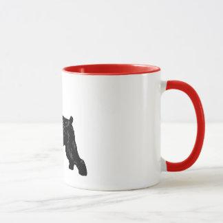 Russe noir Terrier Mug