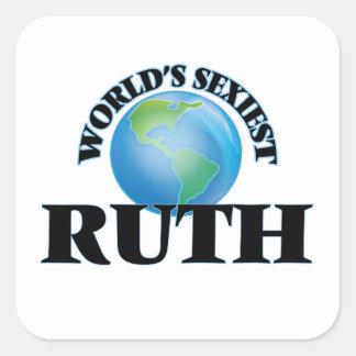 Ruth le plus sexy du monde stickers carrés