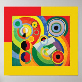 Rythme Joie de Vivre par Robert Delaunay Poster