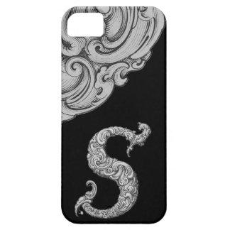 S - L alphabet de Falck argenté Coque Case-Mate iPhone 5