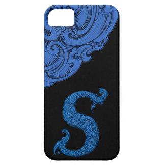 S - L alphabet de Falck bleu Coques Case-Mate iPhone 5