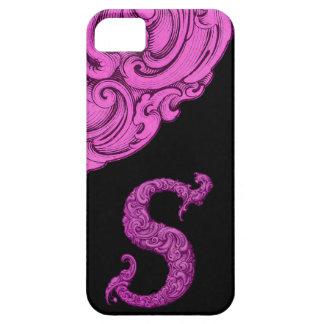 S - L alphabet de Falck rose Coques Case-Mate iPhone 5