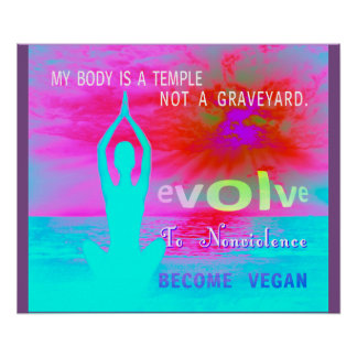 s un temple - affiche poster