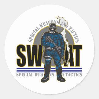 S.W.A.T. Attitude Sticker Rond
