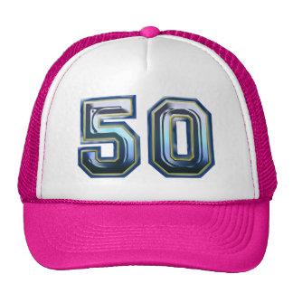 Sa cinquantième fête d'anniversaire casquette
