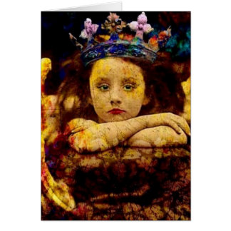 Sa couronne carte de vœux