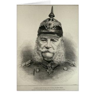 Sa majesté impériale William I Carte De Vœux