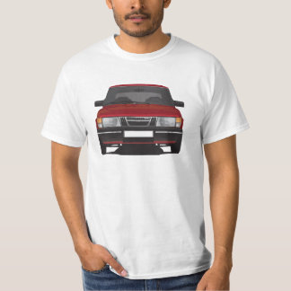 Saab 900 turbo (rouge) t-shirts
