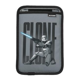 Sableuse de soldat de la cavalerie de clone housses pour iPad mini