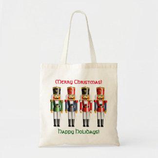 Sac 4 soldats de jouet de casse-noix de Noël