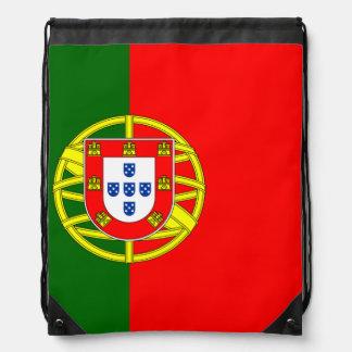 Sac à dos de cordon de drapeau du Portugal