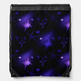 Sac à dos de cordon de nuit étoilée