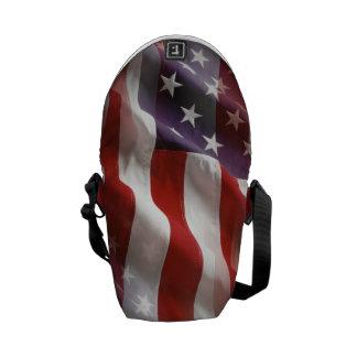 Sac à dos de drapeau américain besaces
