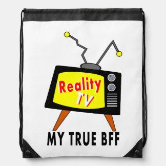 sac à dos démodé de bande dessinée de poste TV