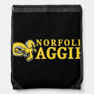 Sac à dos simple de cordon d'Aggie
