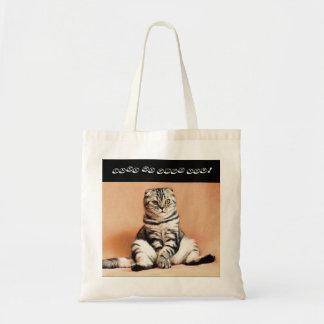 Sac à provisions de chat de pli d'écossais de