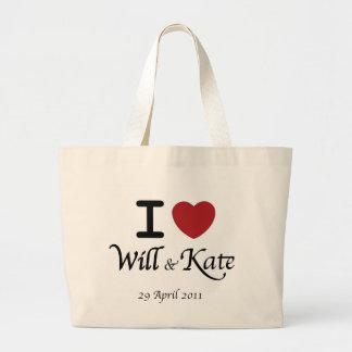 Sac à provisions l'épousant royal de William et de