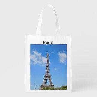Sac à provisions réutilisable de Paris Sac Réutilisable