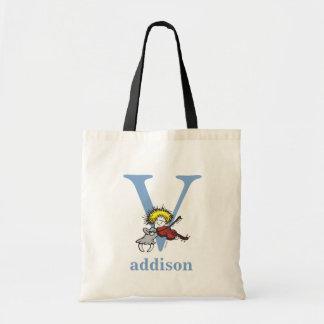 Sac ABC de Dr. Seuss's : Lettre V - Le bleu | ajoutent