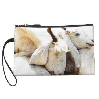 Sac adorable de chèvres pochettes avec anse