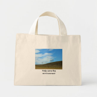 Sac - aide sauver l'environnement