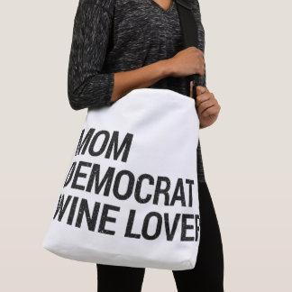 Sac Ajustable Amateur de vin Fourre-tout de Démocrate de maman