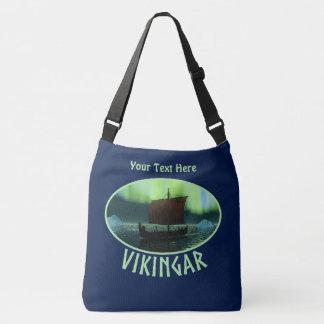 Sac Ajustable Bateau de Viking sous les lumières du nord