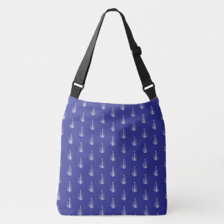 Sac Ajustable Bleu royal d'arbres de Noël