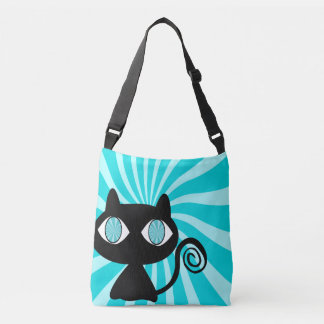 Sac Ajustable Chat hypnotique mignon