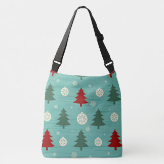 Sac Ajustable Christmas-tree-with-snow-seamless-pattern-vector.j