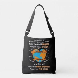 Sac Ajustable Colorez l'orange… RSD/CRPS du monde