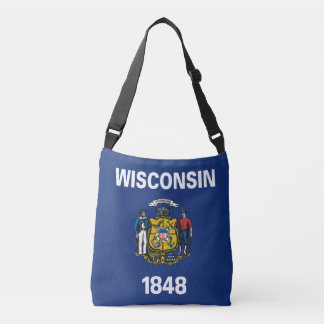 Sac Ajustable Conception de drapeau du WISCONSIN -